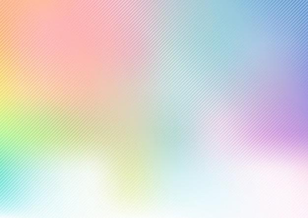 Resumen arco iris pastel fondo borroso Vector Premium