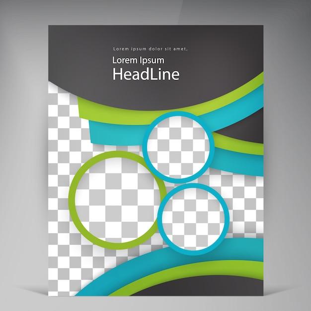 Resumen folletos modernos folletos vectoriales ...