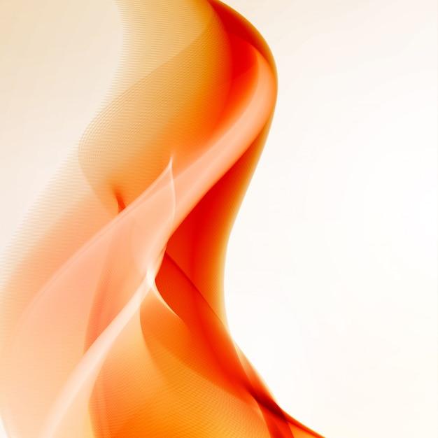 Resumen fuego llamas ilustración. fondo colorido, concepto de arte Vector Premium