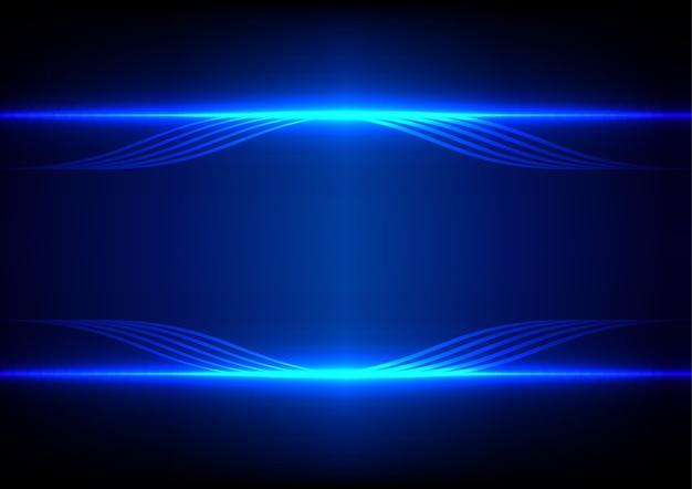 Resumen L 237 Nea Azul Efecto De Luz De Fondo Descargar