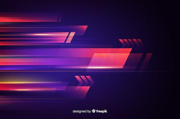 Resumen de movimiento de luz de fondo vector gratuito
