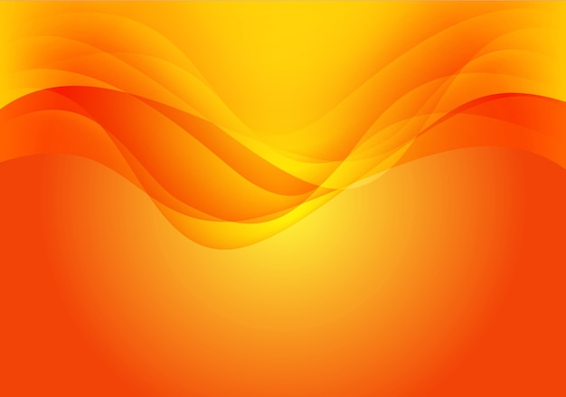 Resumen Textura De Fondo De La Curva De Onda Amarilla Roja