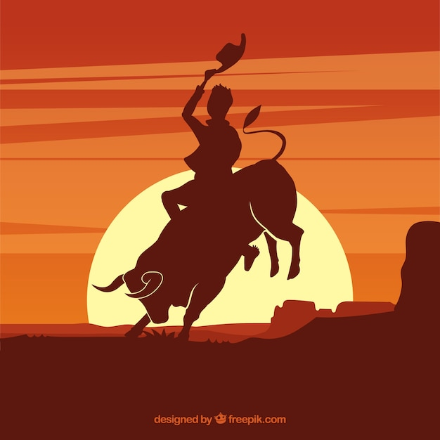 Montando un toro salvaje 2