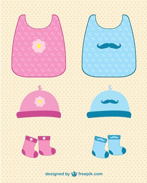 Ropa de bebé | Descargar Vectores gratis