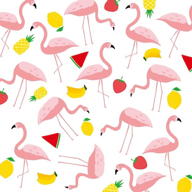 Rosa salvaje hoja y flamenco alegre primavera verano | Descargar ...