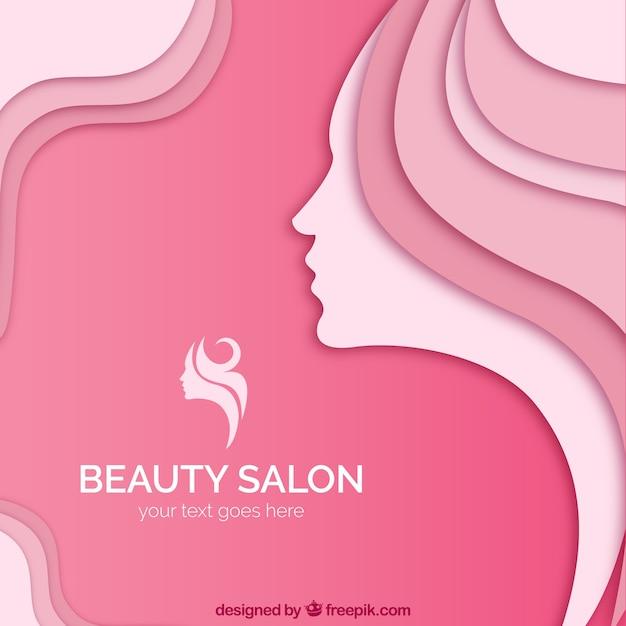 Salón de belleza | Descargar Vectores Premium