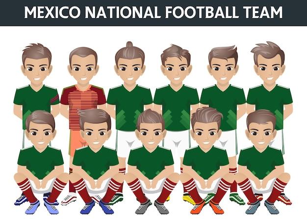 Selección nacional de fútbol de méxico para el torneo internacional ... 929877e5a6d68