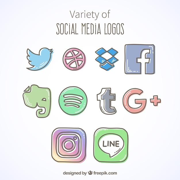 logo facebook blanco fotos y vectores gratis