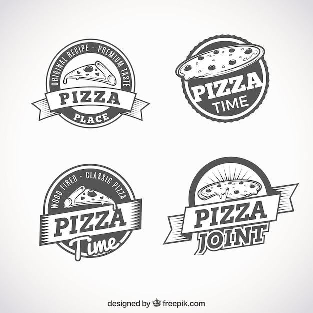 logo pizza fotos y vectores gratis