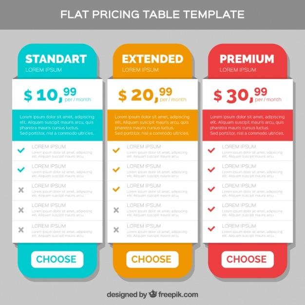 Graphic Design List Layout