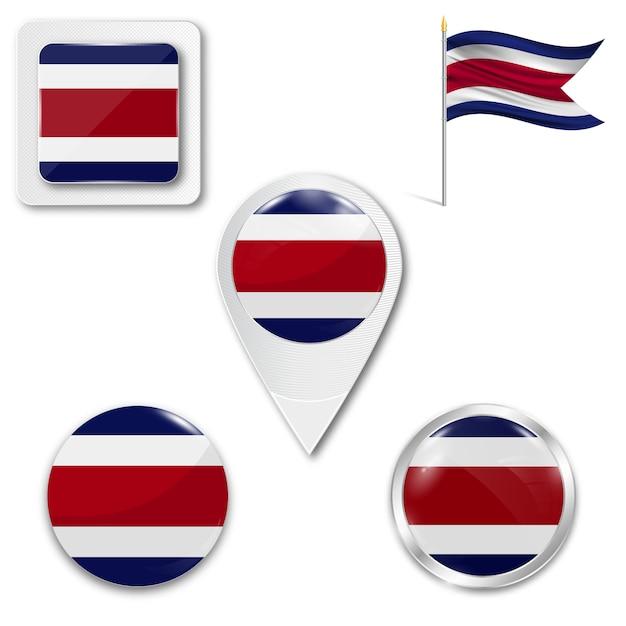 que significa el simbolo de la bandera de costa rica