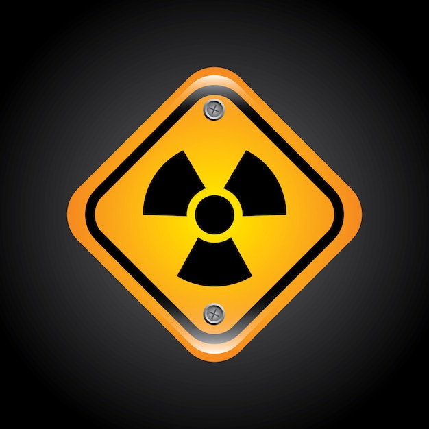 Signos atómicos vector gratuito