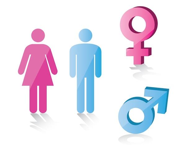 Símbolo Masculino Y Femenino