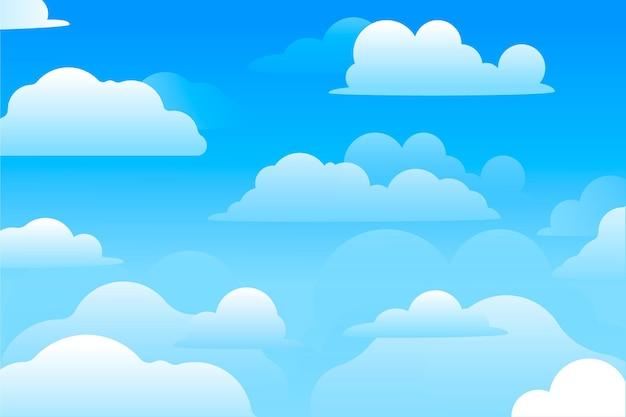 Sky - fondo para videoconferencia vector gratuito