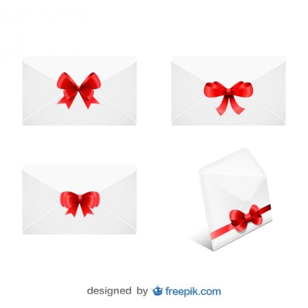 Sobres con cinta de navidad en conjunto descargar - Cinta de navidad ...