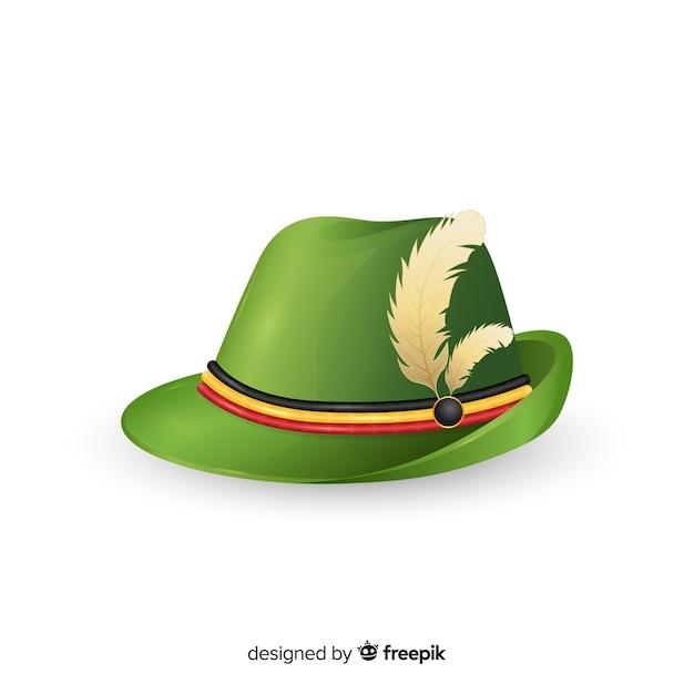 0866ffd0843df Sombrero tradicional alemán