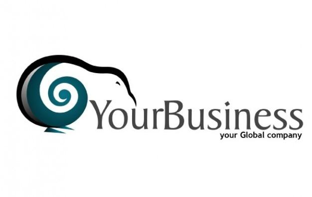 Su empresa logotipo de la ola descargar vectores gratis for Empresa logos
