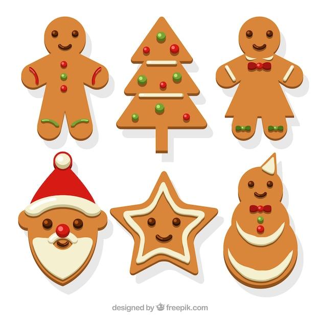 Imagenes De Galletas De Navidad Animadas.Surtido De Galletas Navidenas Decorativas De Jengibre