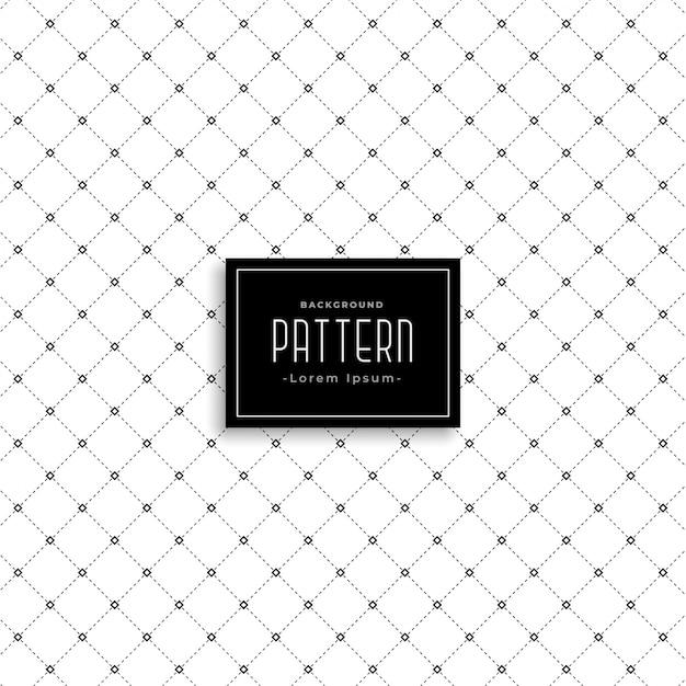 Sutil línea limpia patrón de puntos de fondo | Descargar Vectores gratis