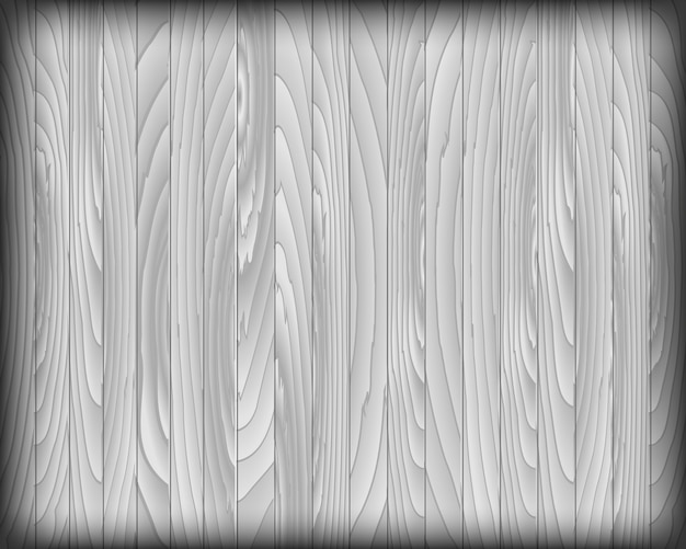 Tablón de madera gris para fondo Vector Premium