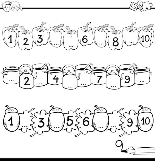 Dibujos Matematicas Animados Para Colorear Muchacho De Genio De