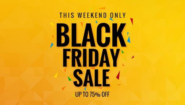 Tarjeta de compras de venta de viernes negro vector gratuito