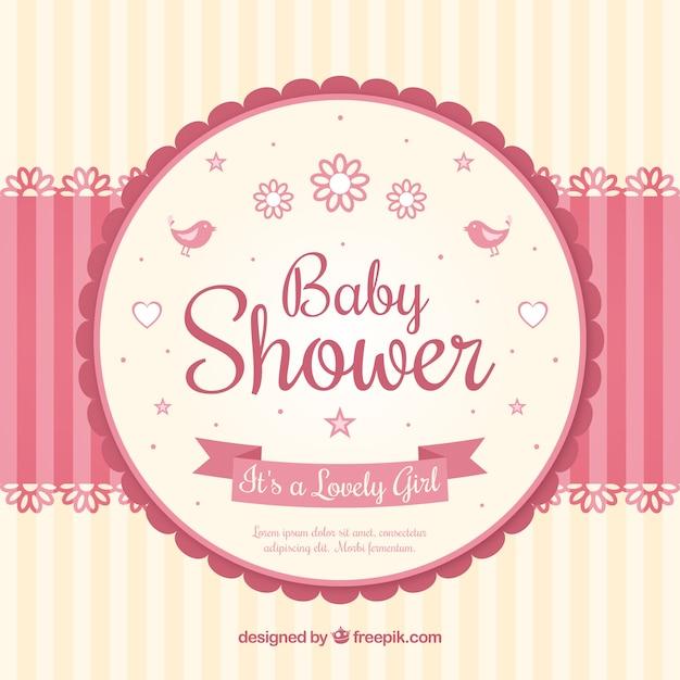 Tarjeta de bienvenida del bebé con móvil | Descargar ...
