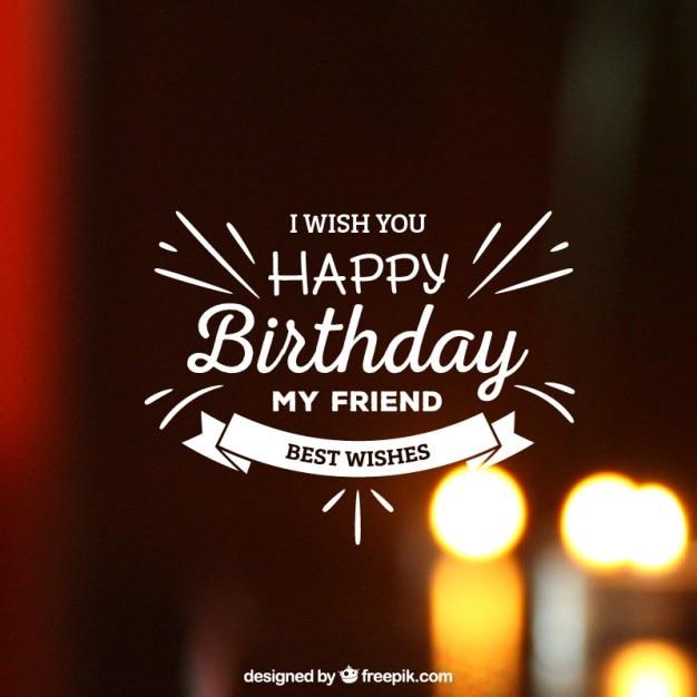 Happy Birthday Para Hombres Imagenes ~ Tarjeta de letras para el cumplea�os descargar vectores gratis
