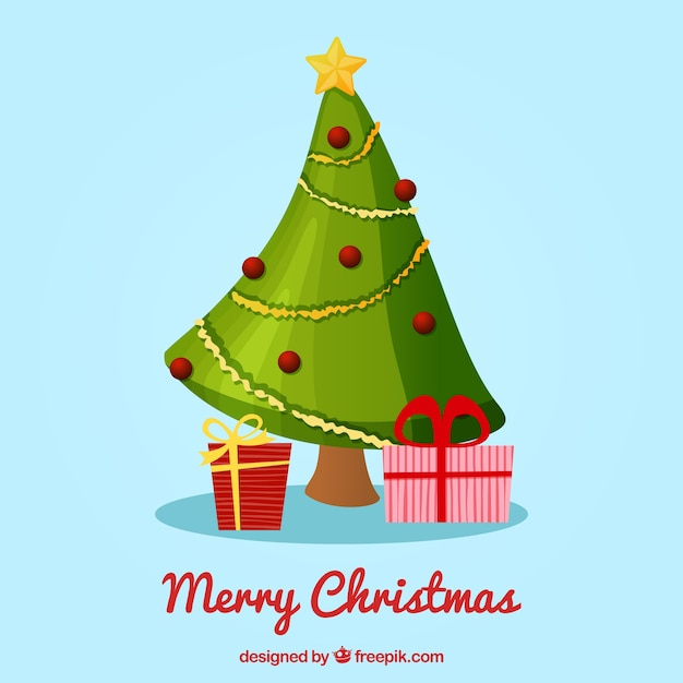 Tarjeta de navidad con rbol hecho con cinta verde - Cinta arbol navidad ...