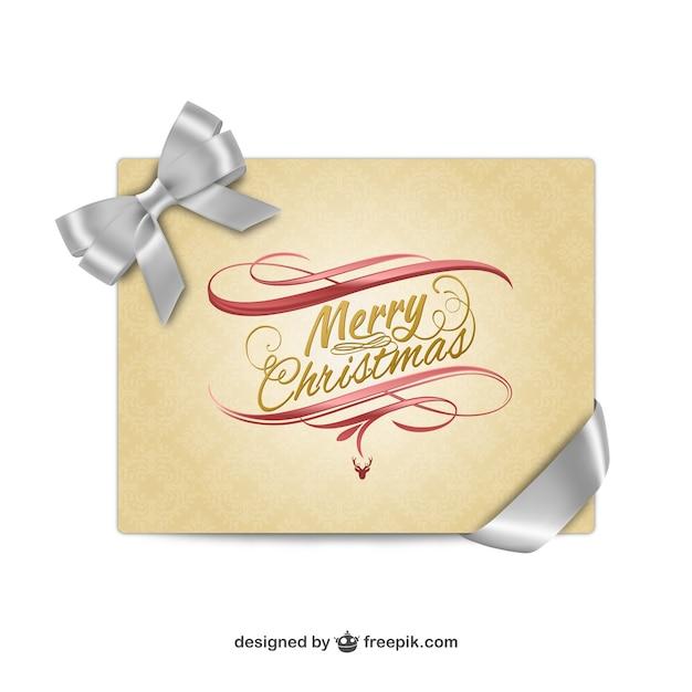 Tarjeta de navidad elegante de estilo vintage descargar - Tarjetas de navidad elegantes ...