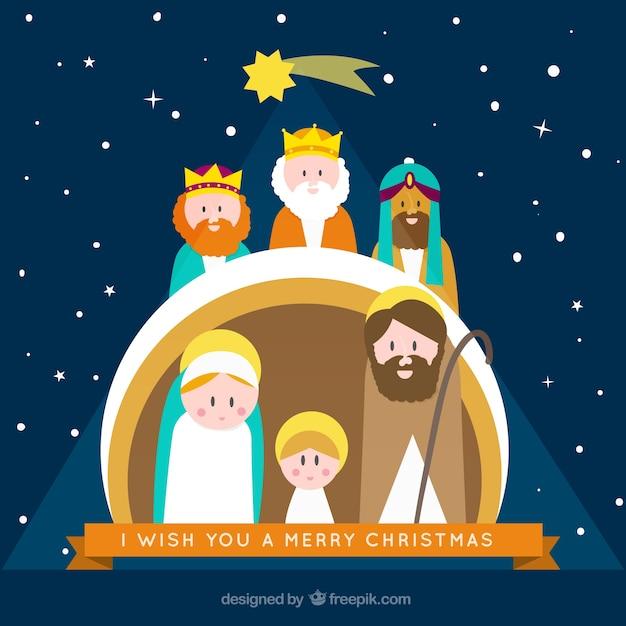 Tarjeta de portal de bel n descargar vectores gratis - Christian cartoni animati immagini ...