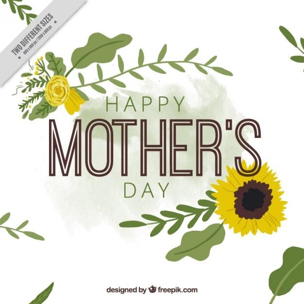 Tarjeta De Feliz Dia De La Madre Con Girasol Vector Premium ¡feliz día de la mujer! https www freepik es profile preagreement getstarted 852441