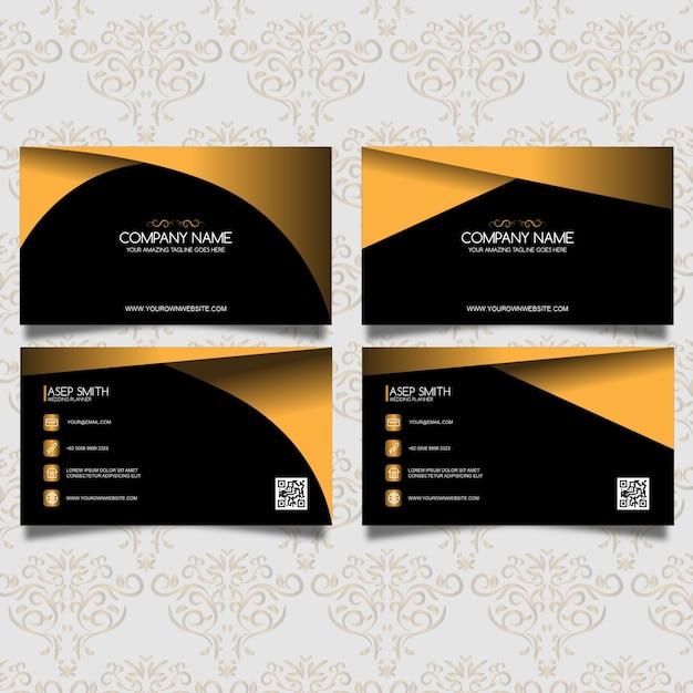 tarjeta de presentación decorativa elegante descargar vectores gratis