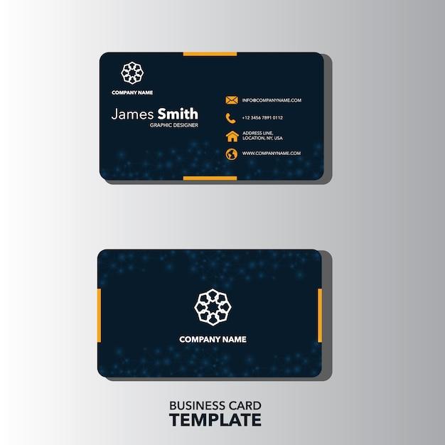 tarjeta de presentación elegante descargar vectores premium