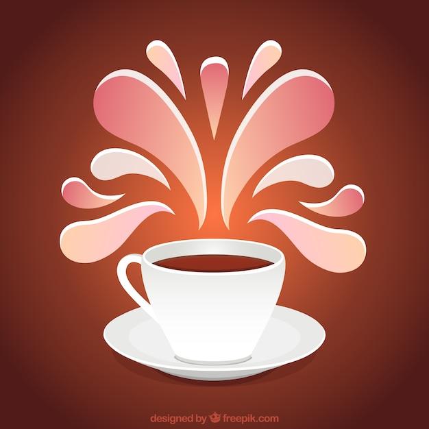 taza de caf con decoraci n ornamental descargar