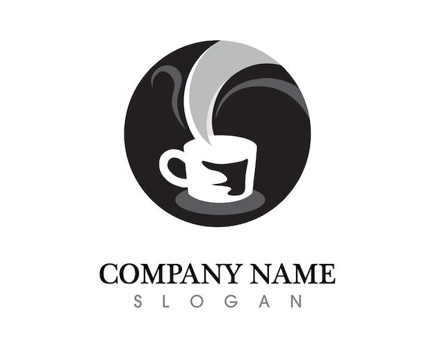 Taza De Café Logo Template