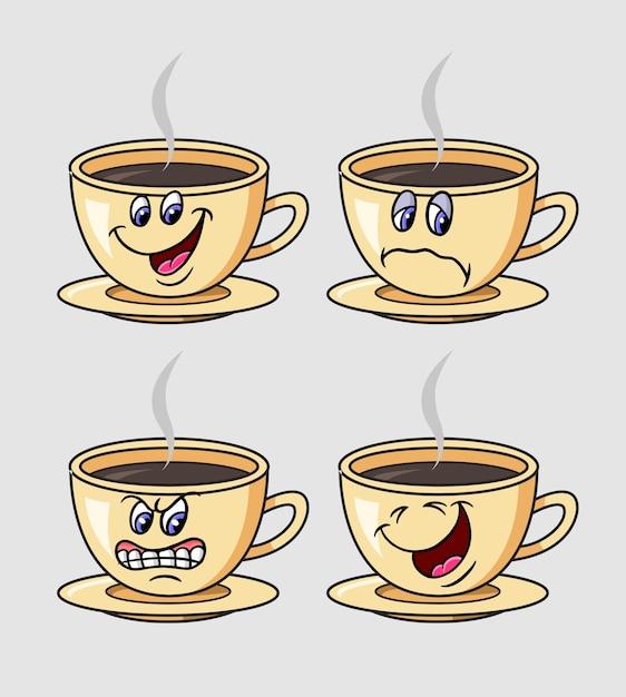 Dibujos Animados Caricaturas De Taza Cafe | www.imagenesmy.com