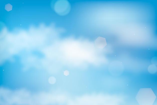 Tema de fondo del cielo vector gratuito