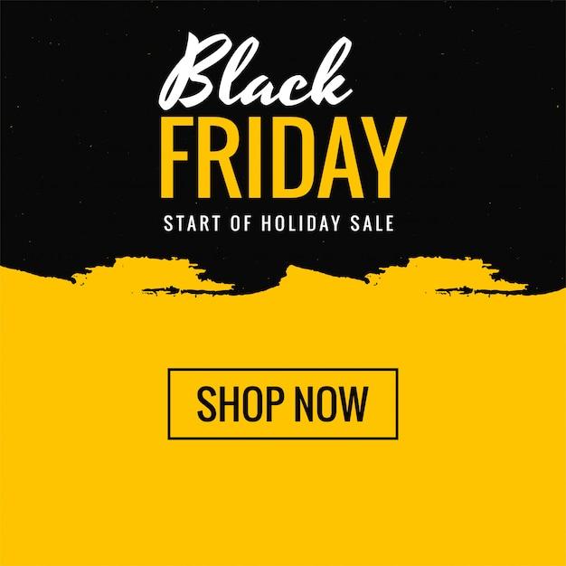 Texto creativo de venta de compras de viernes negro hermoso vector gratuito