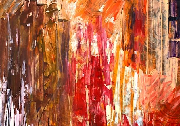 Textura de acuarela colorida abstracta vector gratuito