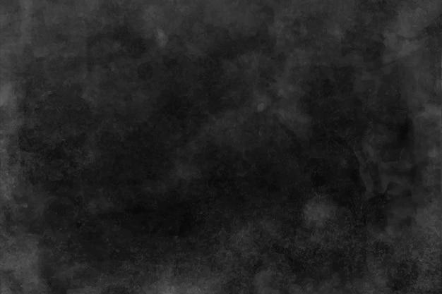 Textura de acuarela negra y gris oscuro, fondo Vector Premium