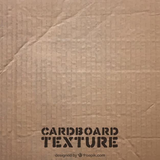 Textura de cartón vector gratuito