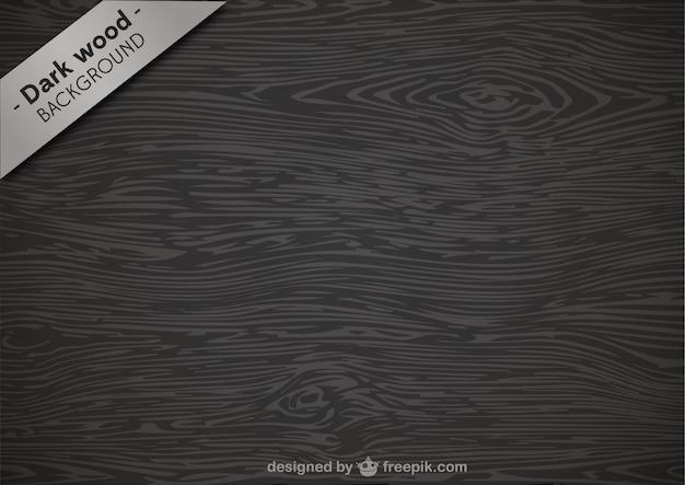 Textura de madera oscura vector gratuito