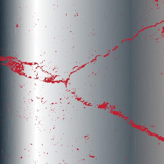 Textura de metal con manchas vector gratuito