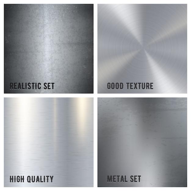 Textura de metal vector gratuito