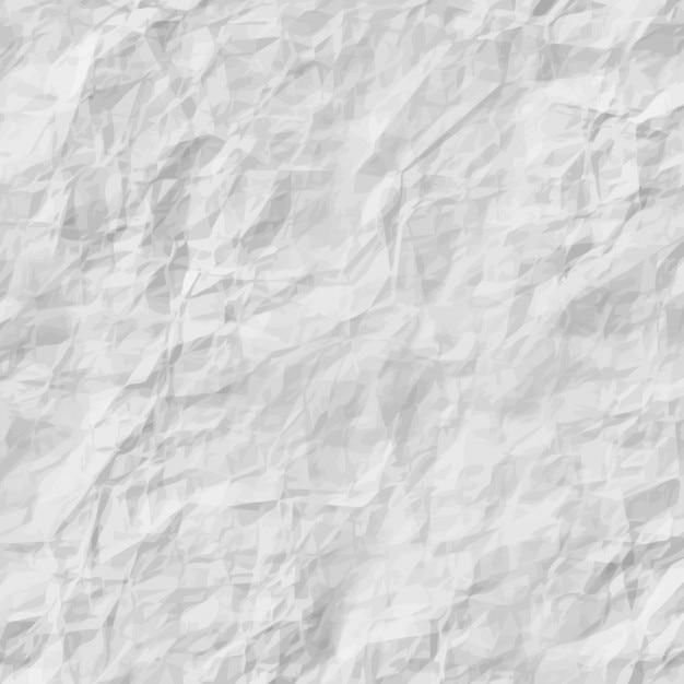 Textura de papel arrugado vector gratuito