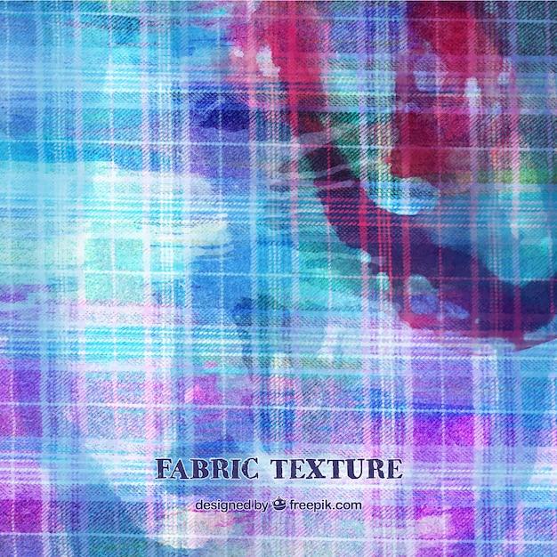 Textura de tela azul y rosa vector gratuito