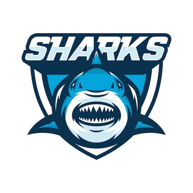 Tiburones animal deporte mascota cabeza logo vector  d0c92f21abd5a