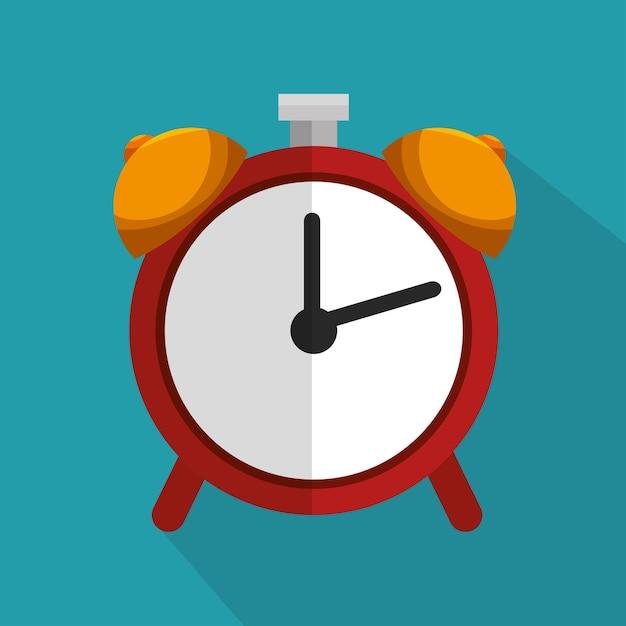 Tiempo Rojo Fondo De AzulDescargar Icono Escuela Reloj PiuOkXZ