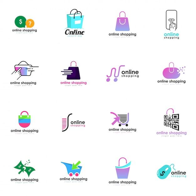 2d3597a8 Tienda online de logotipos | Descargar Vectores Premium